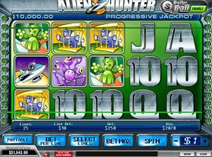 alien hunter slot
